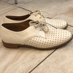 Halogen cream lace up shoes Nordstrom 7M